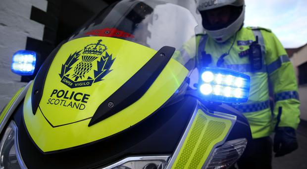Police are now appealing for information regarding the incident which happened with traffic travelling in both directions nearby (Andrew Milligan/PA)