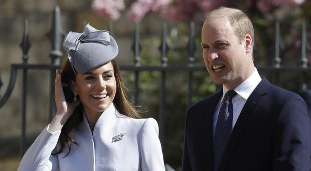 The Duke and Duchess of Cambridge are to take part in a sailing race in aid of their charities (Kirsty Wigglesworth/PA)