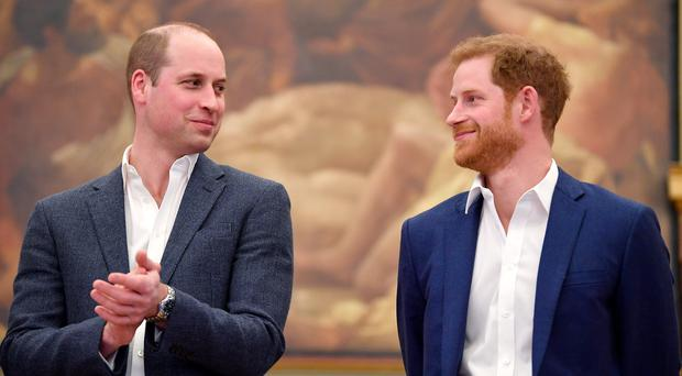 William and Harry (Toby Melville/PA)