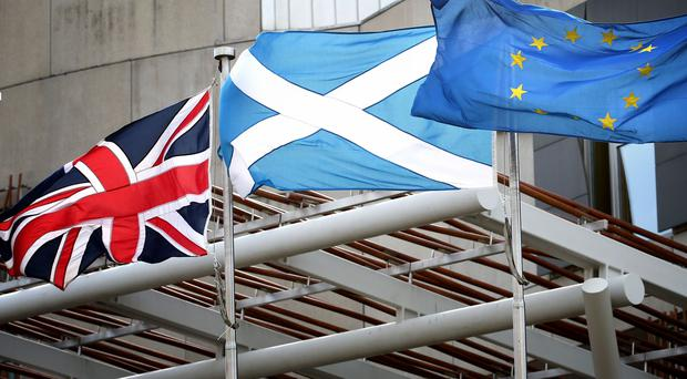 MSPs will consider Scotland's relationship with Europe post Brexit (Jane Barlow/PA)