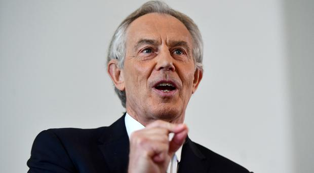 Tony Blair has warned a second independence referendum could 'fundamentally' damage the UK. (Victoria Jones/PA)