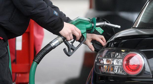 The cost of filling the tank of a 55-litre family petrol car has increased by nearly £4 in the past six weeks (Lewis Whyld/PA)