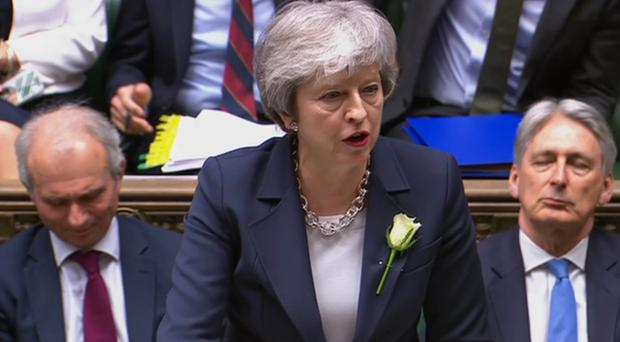 Prime Minister Theresa May (House of Commons/PA)
