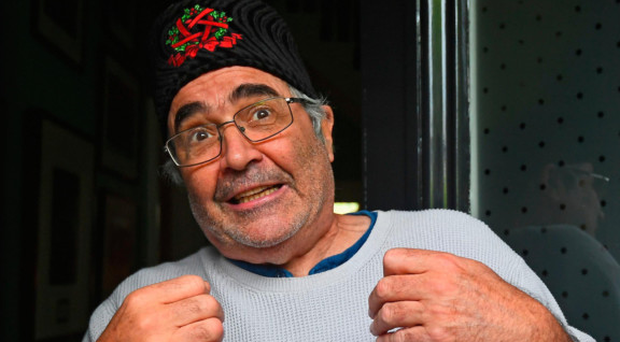 Danny Baker speaking at his London home yesterday