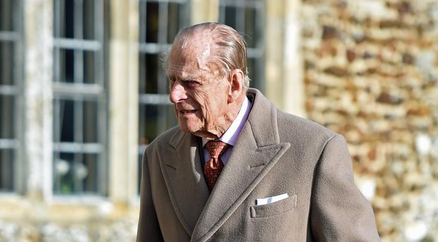Prince Philip has lent his name to a foundation fund for his old school (Joe Giddens/PA)