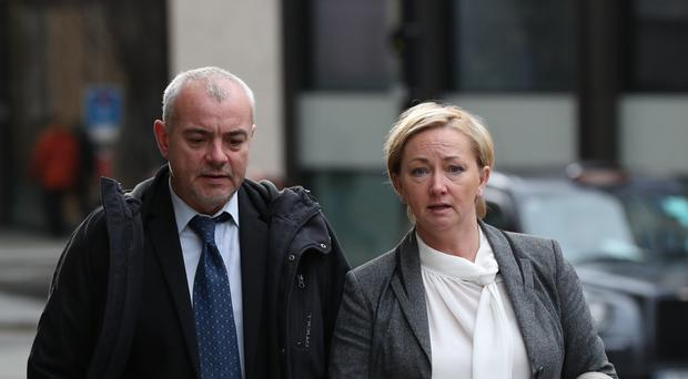 Sharon Patterson and Lee Pollard have been jailed at the Old Bailey (Jonathan Brady/PA)
