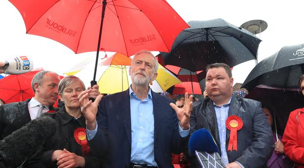 Jeremy Corbyn wants to raise the minimum wage for young workers (Gareth Fuller/PA)