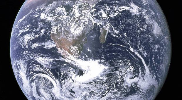 Picture of the Earth (Nasa/PA)