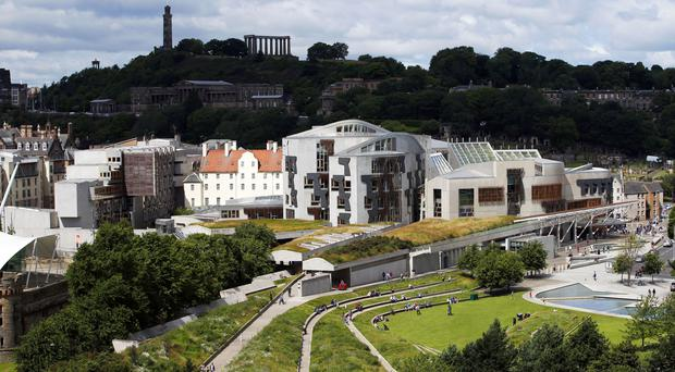 Jack McConnell wants a second chamber at the Scottish Parliament (Jane Barlow/PA)