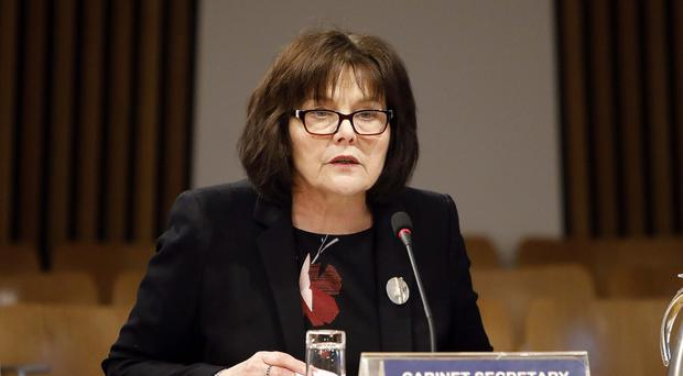 Jeane Freeman has welcomed the approval of new drugs for treatment of people with incurable breast cancer (Andrew Cowan/Scottish Parliament/PA)