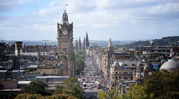 Edinburgh could be committed to being carbon neutral by 2037 (Jane Barlow/PA)