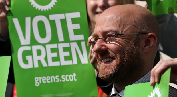 The Scottish Greens are hoping to secure their first MEP (Andrew Milligan/PA)