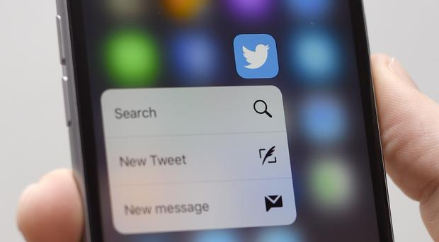 Twitter has apologised after a bug resulted in the sharing of location data (Lauren Hurley/PA)