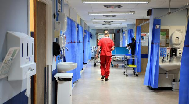 Hospital death rates across Scotland have fallen 14% in four years (Peter Byrne/PA)