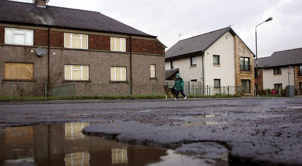 """Empty homes are said to """"blight"""" communities (Andrew Milligan/PA)"""