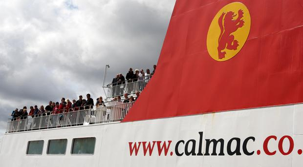 MSPs pressed the Transport Secretary on delays to two new CalMac ferries (Andrew Milligan/PA)