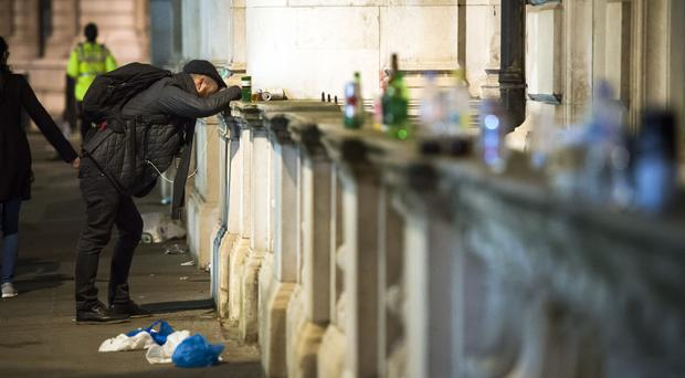 A survey found UK drinkers get drunk more often than anywhere else in the world (Ben Stevens/PA)