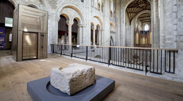 Scientists believe they may have discovered the remains of an 11th century queen of England in Winchester Cathedral (Robin Jones/Digital South/PA)