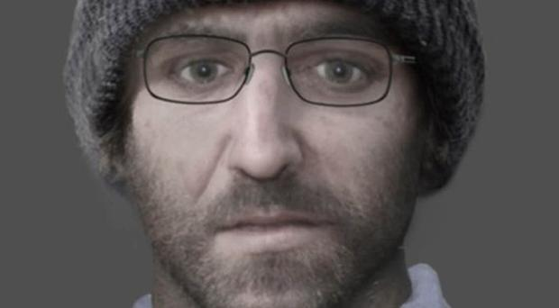 Facial reconstruction image of a man whose body was found in a disused barn off Bazeley Copse Lane, Micheldever, on December 1, 2017 (Hampshire Police/PA)