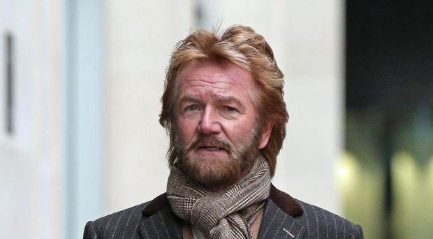 Noel Edmonds bought a share with the banking group last year so he could go to its AGM (Jonathan Brady/PA)