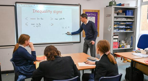 A teaching union wants teachers to reclaim their profession from 'bean counters' (Ben Birchall/PA)