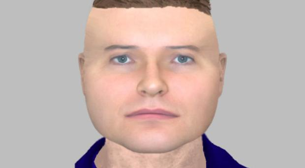 Social media users likened the e-fit to Lego men (Northamptonshire Police/PA)