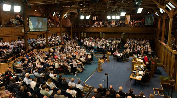 The General Assembly of the Church of Scotland opens in Edinburgh on Saturday (Andrew O'Brien/PA)