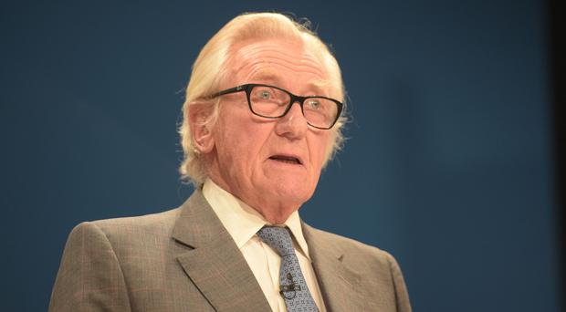 Lord Heseltine has said he will vote Lib Dem on May 23 (Ben Birchall/PA)