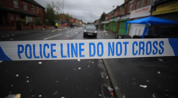 Police have warned arrests will follow disorder which broke out in Oldham (Peter Byrne/PA)
