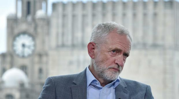 Jeremy Corbyn on The Andrew Marr Show (Jeff Overs/BBC)