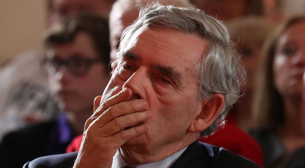 Former prime minister Gordon Brown says the SNP have moved from soft to hard independence (Andrew Milligan/PA)
