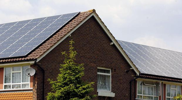 Roseanna Cunningham criticised plans to increase VAT on solar panels (John Stillwell/PA)