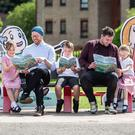 The book is being given to all primary children in Renfrewshire (Renfrewshire Council/PA)