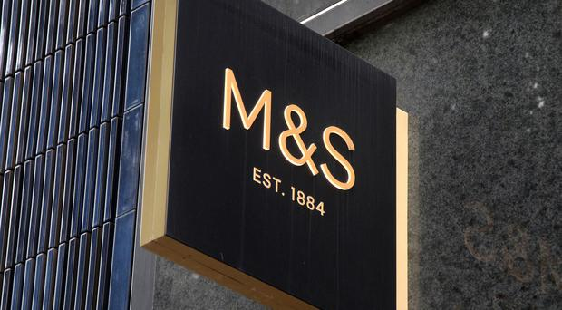Retail giant Marks and Spencer has reported falling annual profits (Yui Mok/PA)