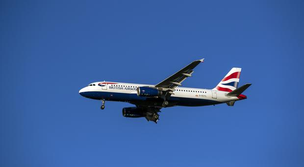 Higher air fares due to the Easter holidays helped push up inflation in April (Steve Parsons/PA)