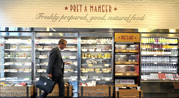 Pret a Manger has agreed to buy fellow food and drink retailer Eat (Nick Ansell/PA)
