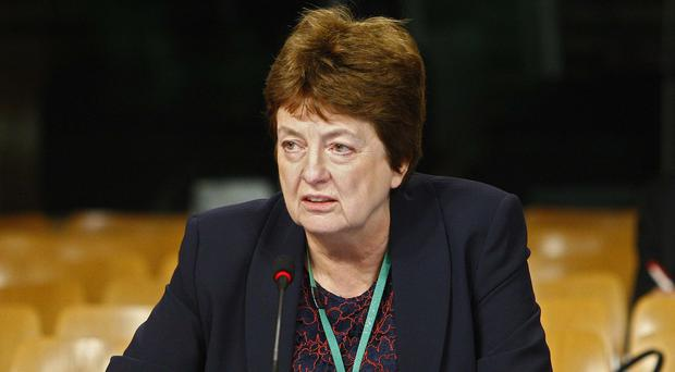 Scottish Qualifications Authority (SQA) chief executive Janet Brown appearing before the Education and Skills Committee (Andrew Cowan/Scottish Parliament/PA)