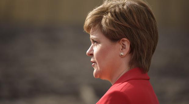 Nicola Sturgeon sent on her best wishes to Graeme Campbell and his family (John Linton/PA)