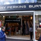 Dorothy Perkins Burton shop in London's Oxford Street (Sean Dempsey/PA)