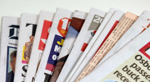 Newspapers (Lewis Stickley/PA)