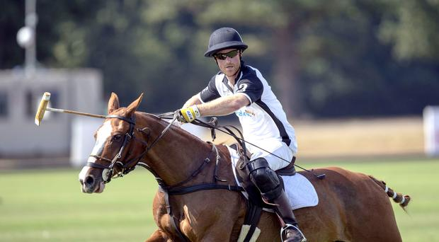 The Duke of Sussex will take part in a polo match (Steve Parsons/PA)