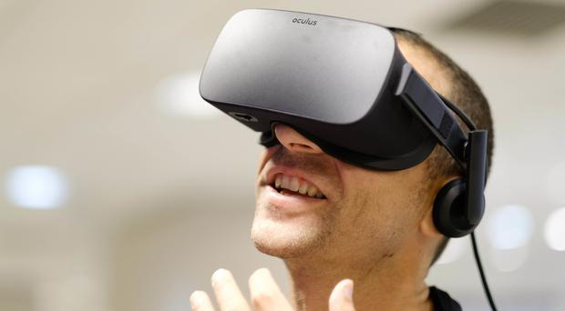 Virtual reality systems have improved and come down in price in recent years (PA file)