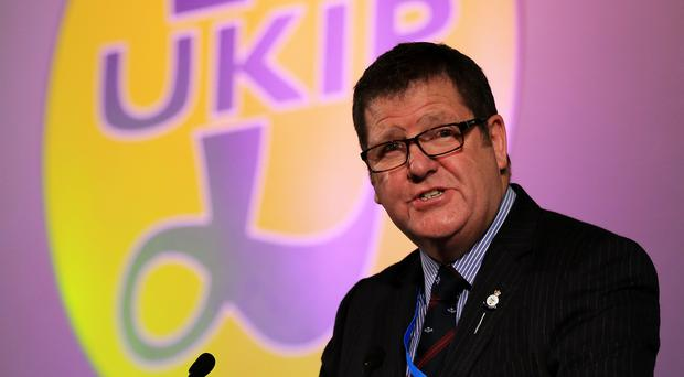 Mike Hookem said he now hopes to become leader of Ukip (Gareth Fuller/PA)