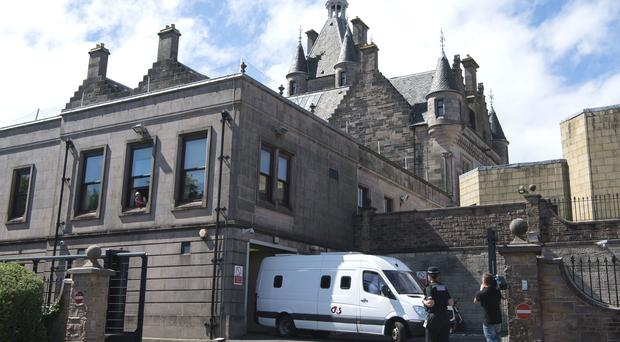 A 31-year-old is due to appear at Greenock Sheriff Court (John Linton/PA)
