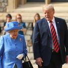 The Queen will host US President Donald Trump (Chris Jackson/PA)