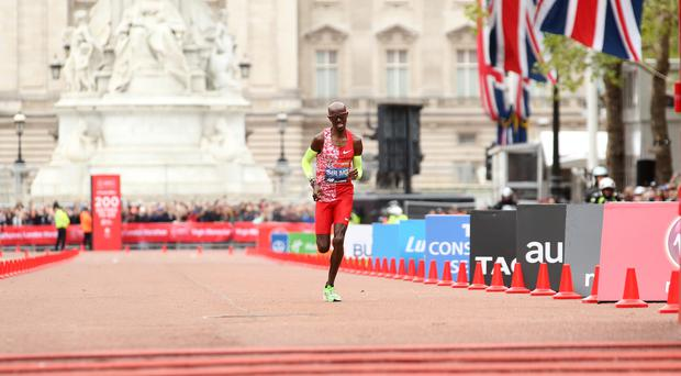 Sir Mo Farah is hoping for a sixth Vitality London 10,000 title after a disappointing fifth place in the Virgin Money London Marathon (Paul Harding/PA)