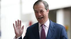 Nigel Farage's Brexit Party stormed to victory in the European elections (Jonathan Brady/PA)