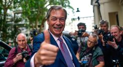 Nigel Farage's Brexit Party was a big winner in the European elections