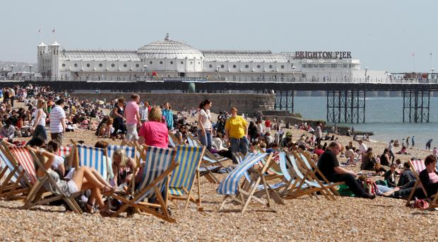 Forecasters are expecting a balmy start to June (PA)