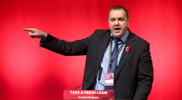 Neil Findlay has resigned from the Scottish Labour frontbench (Andrew Milligan/PA)